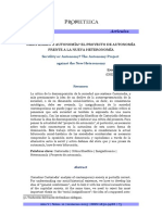 Emanuele Profumi-Servilismo o Autonomía