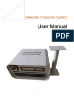 User Manual Pro Version Interactive Projection System