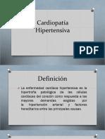Cardiopatía Hipertensiva y Dislipidemia