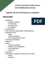 MANUAL DE AUTO PROTEÇAO DO CIDADÃO