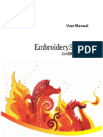 A complete setup by setup guide for embroidery digitizing