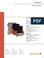 99990275 Wos Delcon Solid State Relays