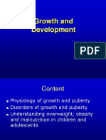 5.6. Growth and Pubertal Development - Endocrinology Clinic