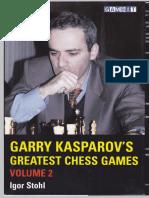 Garry Kasparov's Greatest Chess Games, Volume 2 (Gnv64)