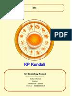 KP Kundali English EI