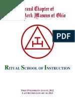 Ritual School of Instruction 20130114