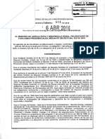 Decreto 0541 de 2016- Pago Sentencias Iss Liquidado
