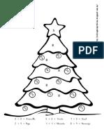 Navidad - Sumas Sin Llevadas (0-9)