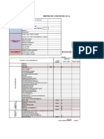Matriz de Costos de Dfi