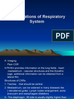 2. Investigations of Respiratory System (1)