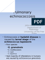 4.Pulmonary Echinococcosis