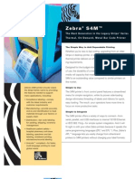 Zebra S4M Printer - Www.trridevlabelss