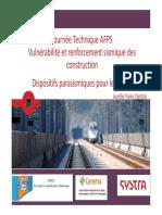 AFPS 2014 JT AG 05 3 Vivier Dispositifs Anti-sismiques