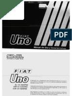 Manual de Usuario Fiat Uno