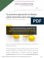 Tu Primera Operación en Bolsa ¿Qué Necesitas Para Operar_ _ Novatos Trading Club