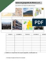 Ejercicio de Integracion de Geografia I Bloque 2016