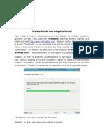 Instalación de una máquina Virtual.docx