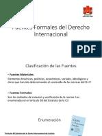 Clase Fuentes Del Dip y Tratados