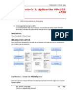 Laboratorio Oracle Apex 1