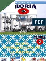 Gloria Historia y analisis financieros, Ratios