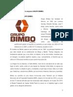 Descripción de La Empresa GRUPO BIMBO