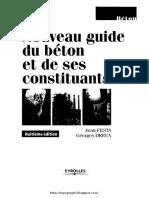 Nouveau Guide Du Beton Et Ses Constituons Ghomari