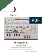 Phoscyon Manual Es
