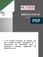 Direito Civil - Contrato de Compra e Venda