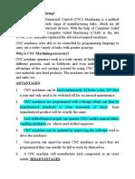 CIM Notes Mere