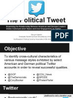 2013 M.a. Thesis Presentation - The Political Tweet