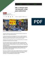 Fábrica Vazia, Perdão a Cheque Sem Fundo e Desconto Em Escova_ a Luta Na Economia Real Para Sobreviver - Notícias - UOL Economia