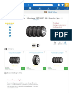 Kit Com 4 Pneus Aro 15 Goodyear 185_60R15 88H Direction Sport -Automotivo - Carros - Walmart