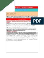 ismail uzun research paper