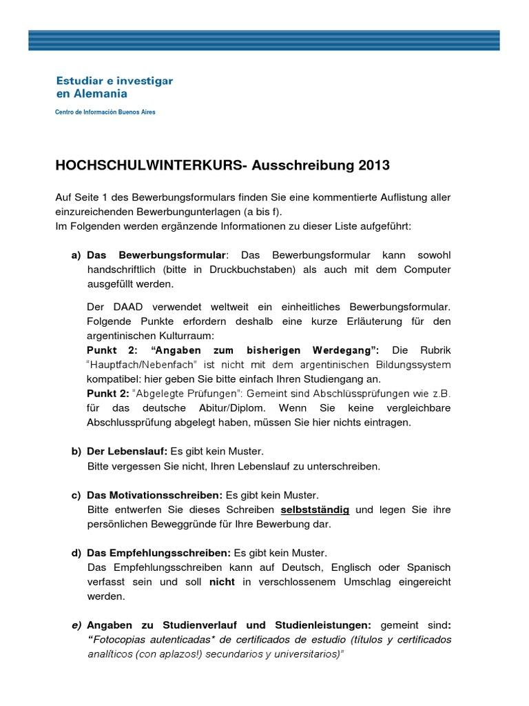 Hwk Anmerkungen Zur Ausschreibung 2013
