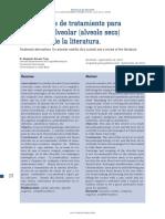 Alternativas de Tratamiento Para Osteitis Alveolar