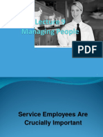 Managing Service People