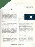 Conservación de Peces 1983