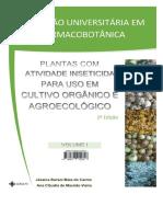 Plantas Com Atividade Inseticida Para Uso Em Cultivo Orgânico e Agroecológico-V01