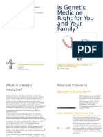 genetic medicine leaflet