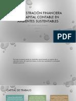 Administración Financiera Del Capital Contable en Ambientes Sustentables(1)