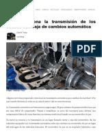 Cómo funciona la transmisión de los coches con caja de cambios automática.pdf