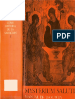 Mysterium Salutis 1. Fundamentos de la Dogmática como Historia de la salvación