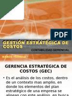 Gestión Estratégica de Costos - Peru y Brasil