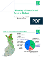 Ecological Planning of Sate Owned Forest, Petri Heinonen
