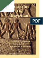 Astrological Compendium - Rhetorius the Egyptian