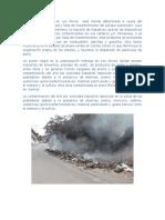 Contaminacion Aerea Los Olivos