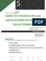 Presentación FAUS- Calefaccion y ACS