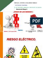 Semana 1 ( 22-27 Agosto 2016) Gestion Del RiesgoII. - Parte I.