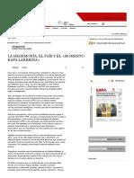 GARA - La Hegemonía, El País y El «Momento Rafa Larreina»