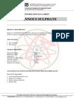 TDS - SnSO4 Regal - (Eng)